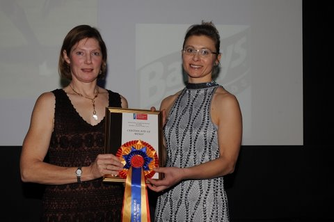 BEF Award January 2010